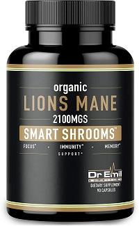 Organic Lions Mane Mushroom Capsules